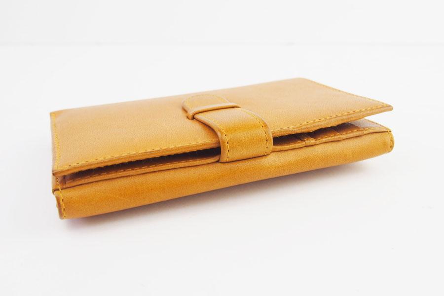 ロウナー ロンドン|LAUNER LONDON|小銭入れ付き折財布|194|タンパネルハイドイメージ03