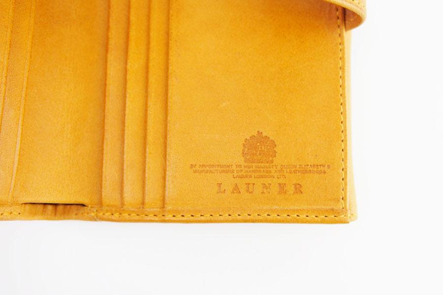 ロウナー ロンドン|LAUNER LONDON|小銭入れ付き折財布|194|タンパネルハイドイメージ09