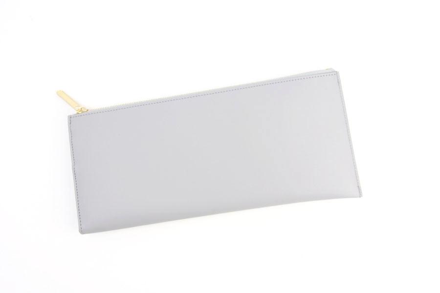 ピービーゼロワンワンゼロ|PB0110|長財布|CM13 WALLET BLACK|ライトグレイイメージ010