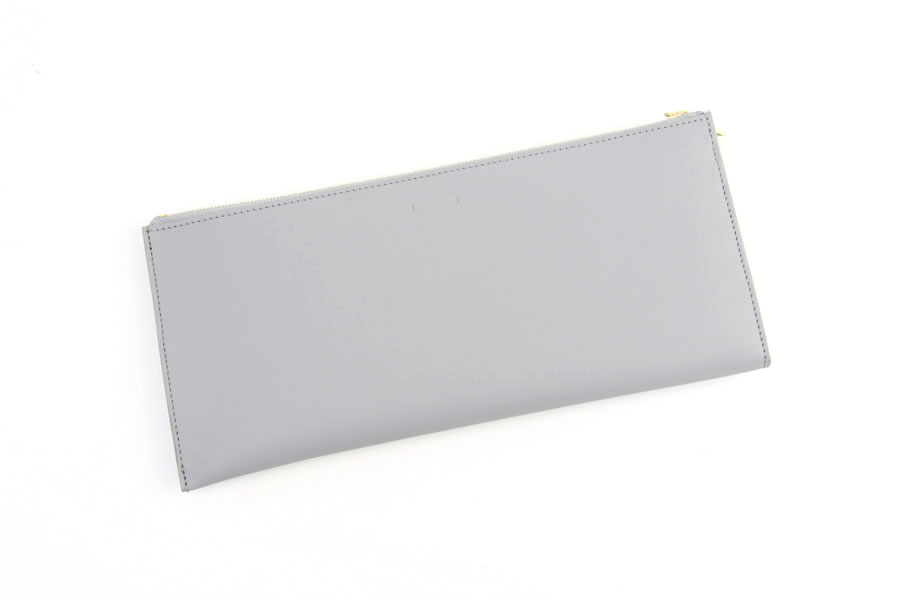 ピービーゼロワンワンゼロ|PB0110|長財布|CM13 WALLET BLACK|ライトグレイイメージ02