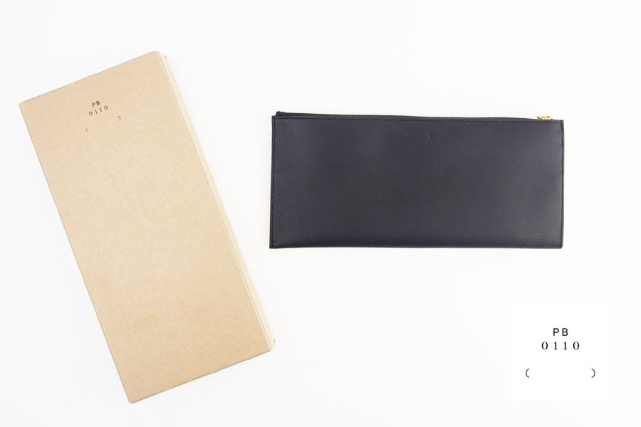 ピービーゼロワンワンゼロ|PB0110|長財布|CM13 WALLET BLACK|ブラック イメージ01