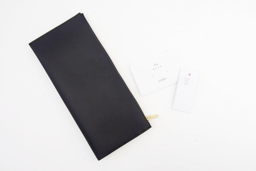 ピービーゼロワンワンゼロ|PB0110|長財布|CM13 WALLET BLACK|ブラック イメージ010