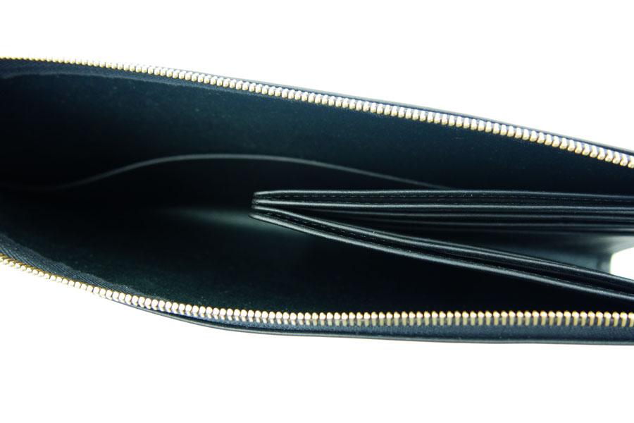 ピービーゼロワンワンゼロ|PB0110|長財布|CM13 WALLET BLACK|ブラック イメージ013