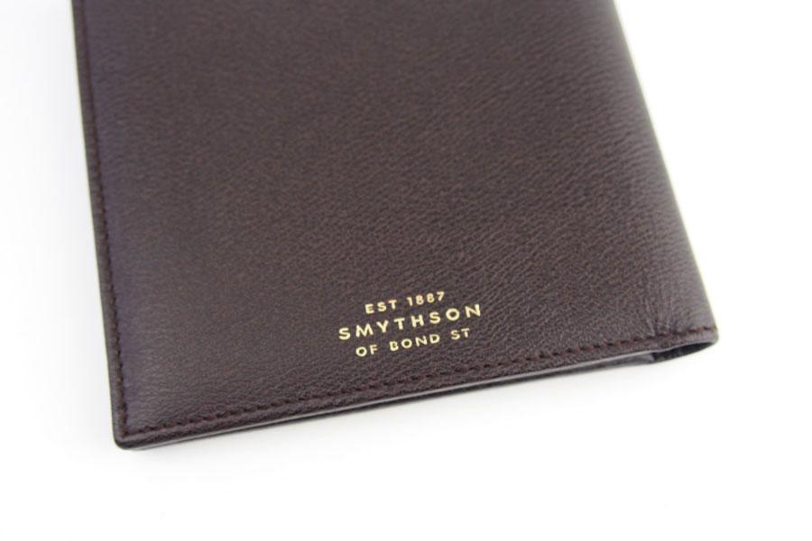 スマイソン|SMYTHSON|グロブナーコレクション|札入れ|GROSVENOR COLLECTION NOTECASE|ブラウンイメージ04