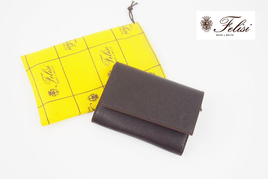 フェリージ|Felisi|サフィアーノレザー|カードケース|名刺入れ|450/SI|ブラウンイメージ01