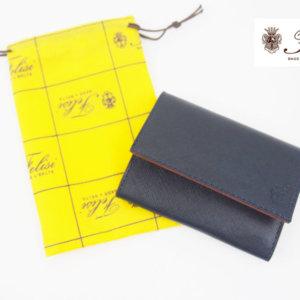 フェリージ|Felisi|サフィアーノレザー|カードケース|名刺入れ|450/SI|ネイビーイメージ01