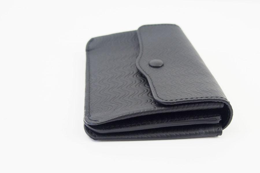 ザネラート ZANELLATO カードケース ブラック 51280 LINEA CACHEMIRE BLANDINE NEROイメージ03