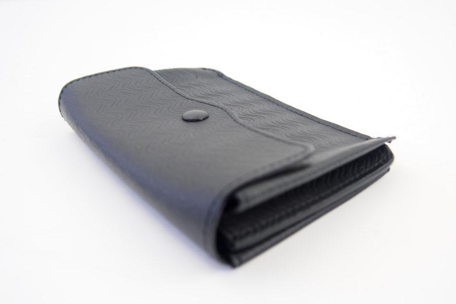 ザネラート ZANELLATO カードケース ブラック 51280 LINEA CACHEMIRE BLANDINE NEROイメージ05