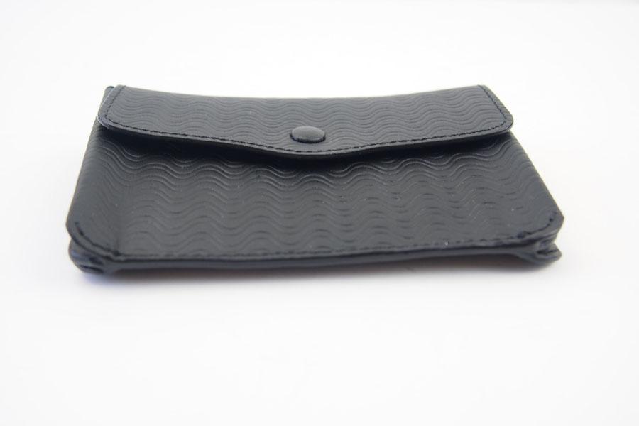 ザネラート ZANELLATO カードケース ブラック 51280 LINEA CACHEMIRE BLANDINE NEROイメージ06