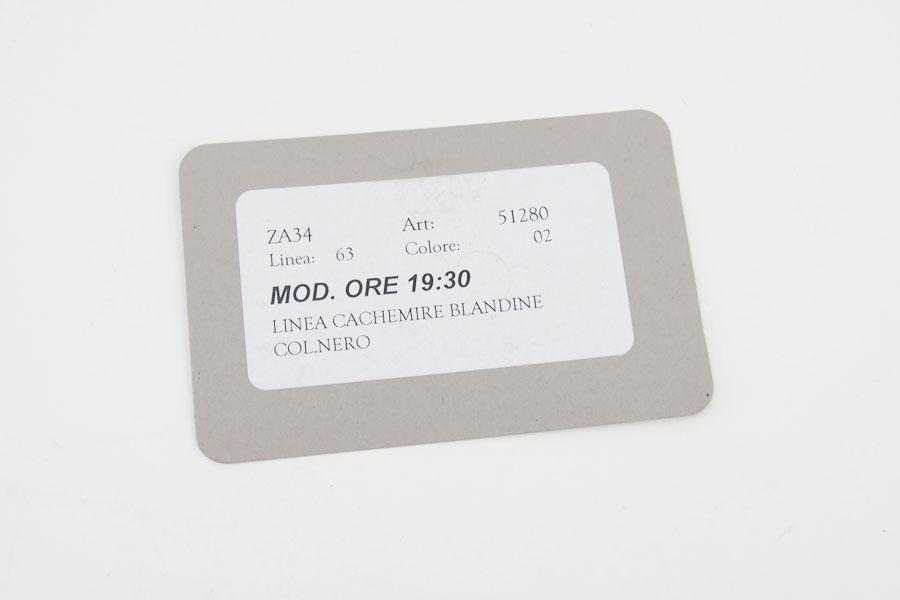 ザネラート ZANELLATO カードケース ブラック 51280 LINEA CACHEMIRE BLANDINE NEROイメージ09