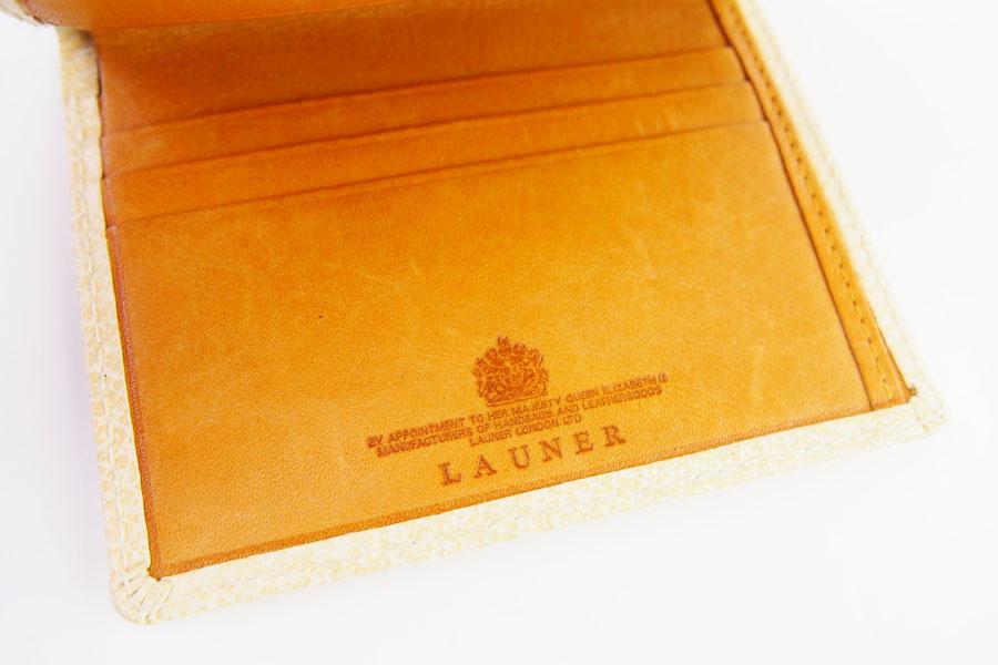 ロウナー ロンドン|LAUNER LONDON|カードケース|ピッグスキン×タンパネルハイドイメージ06