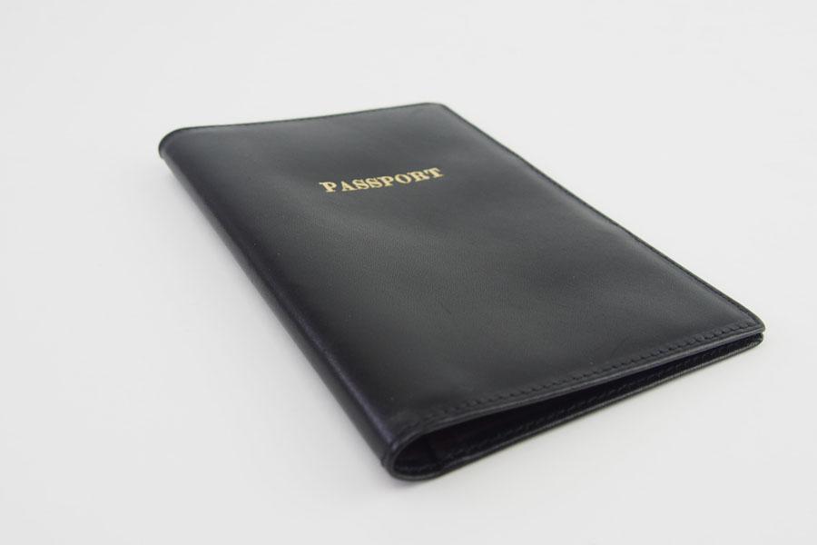 ロウナー ロンドン|LAUNER LONDON|パスポートケース|パスポートホルダー|670/3|ブラック×ボルドーカーフイメージ05
