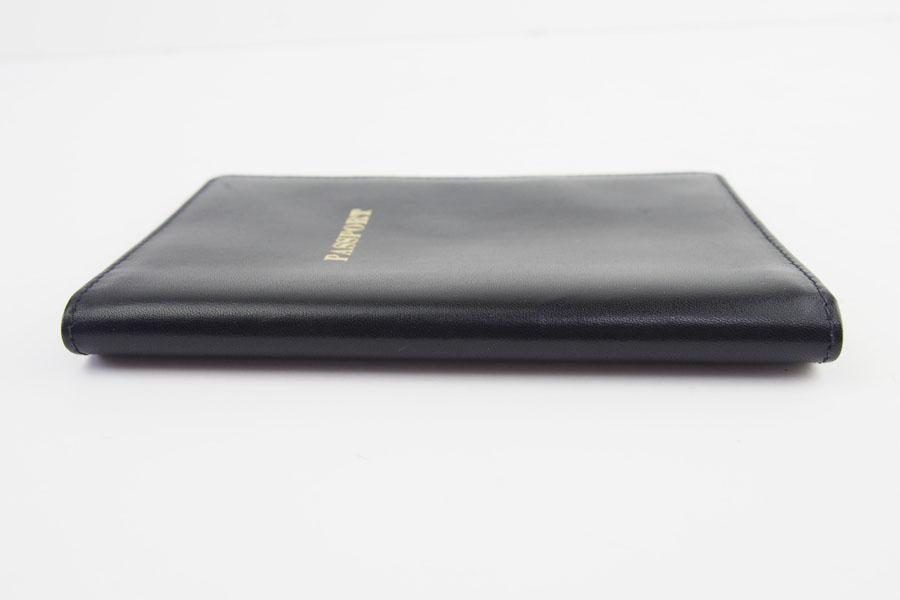 ロウナー ロンドン|LAUNER LONDON|パスポートケース|パスポートホルダー|670/3|ブラック×ボルドーカーフイメージ08