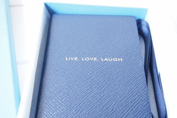 <スマイソン>パナマノートlive love laugh ネイビーイメージ07