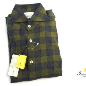 ジャンネット|GIANNETTO|チェック柄セミワイドカラーシャツ SLIM FIT|3G47300L84イメージ01