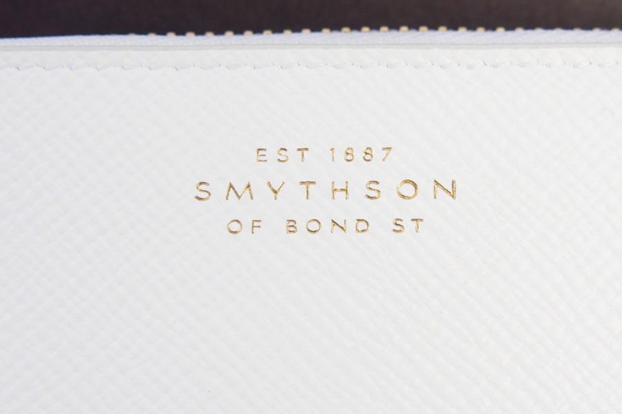 スマイソン|SMYTHSON|パナマ|ラウンドジップ長財布|ホワイトイメージ012