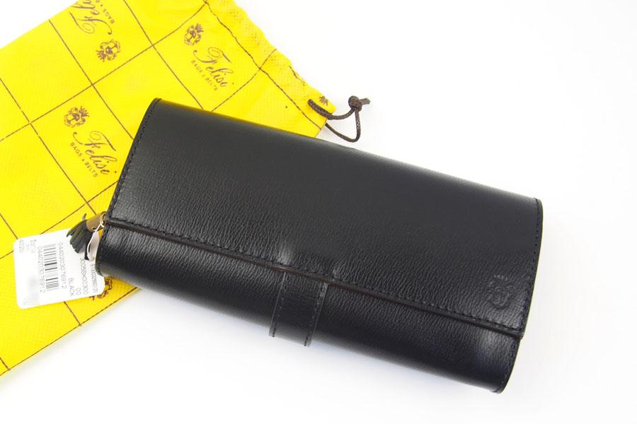 <フェリージ>長財布ブラックイメージ05