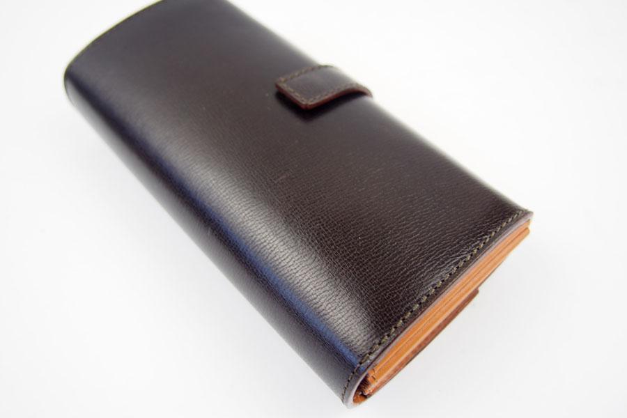 <フェリージ>長財布ブラウンイメージ010