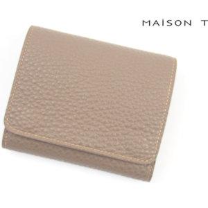 メゾンタクヤ|MAISON TAKUYA|小銭入れ付三つ折り財布|WX Wallet|ベージュ×ターコイズイメージ06