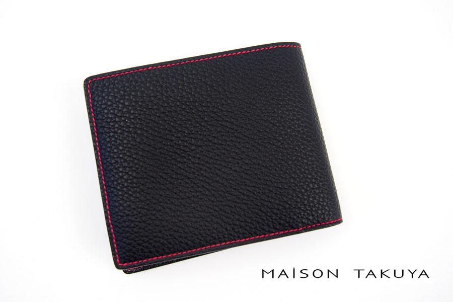 メゾンタクヤ|MAISON TAKUYA|小銭入れ付|2つ折りウォレット|T5 Walletイメージ01