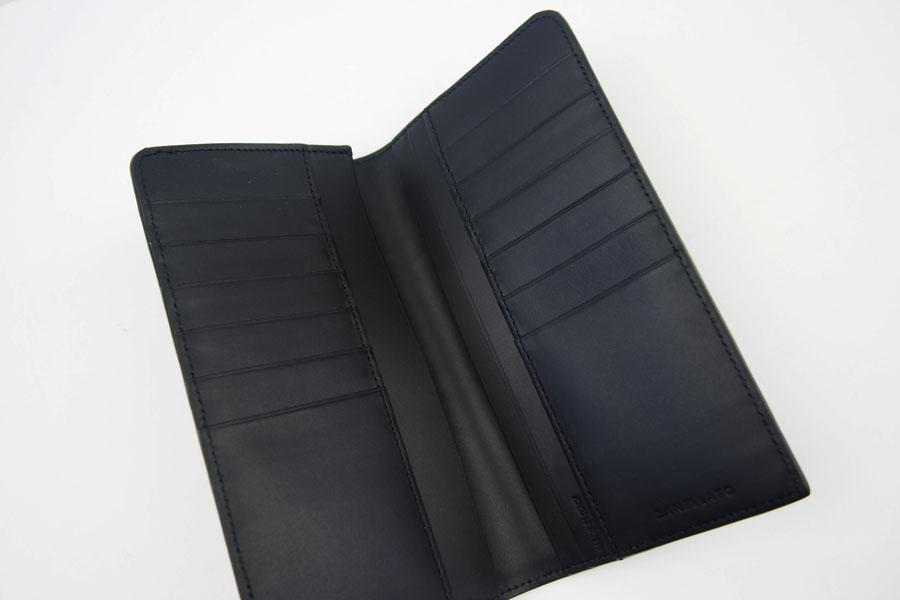 <ザネラート>長財布ブラックイメージ03