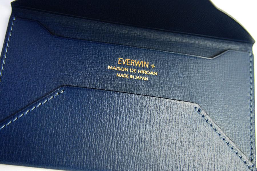 エバーウィン×メゾンドヒロアン EVERWIN + MAISON DE HIROAN 封筒型名刺入れ 21539 イメージ04