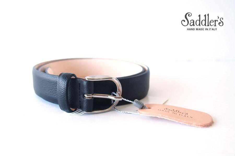 サドラーズ|Saddler's|グレインレザーベルト|85|SG07|ブラック イメージ01
