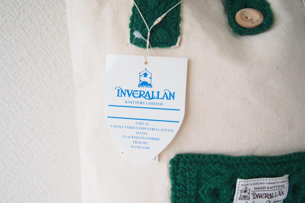 インバーアラン|Inverallan|キャンバス×ニットトートバッグ|グリーンイメージ05