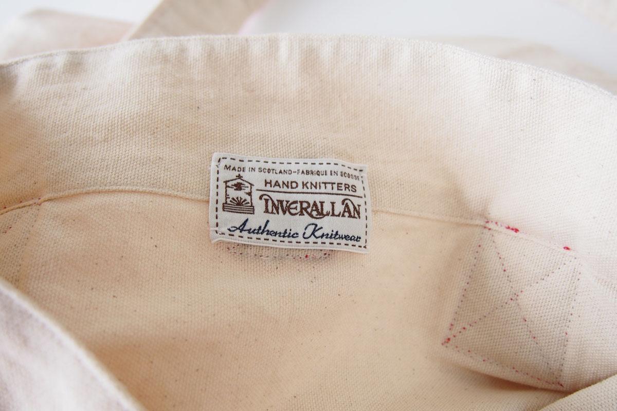 インバーアラン|Inverallan|キャンバス×ニットトートバッグ|レッドイメージ012