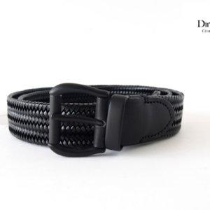 ディノマッティア Dino Mattia レザーメッシュベルト 85 ブラックイメージ01