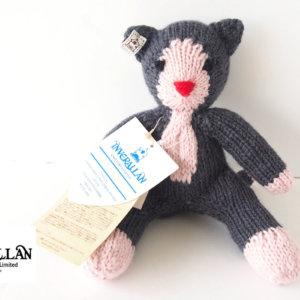 インバーアラン Inverallan ウールキャット ねこ 編みぐるみ ぬいぐるみイメージ01