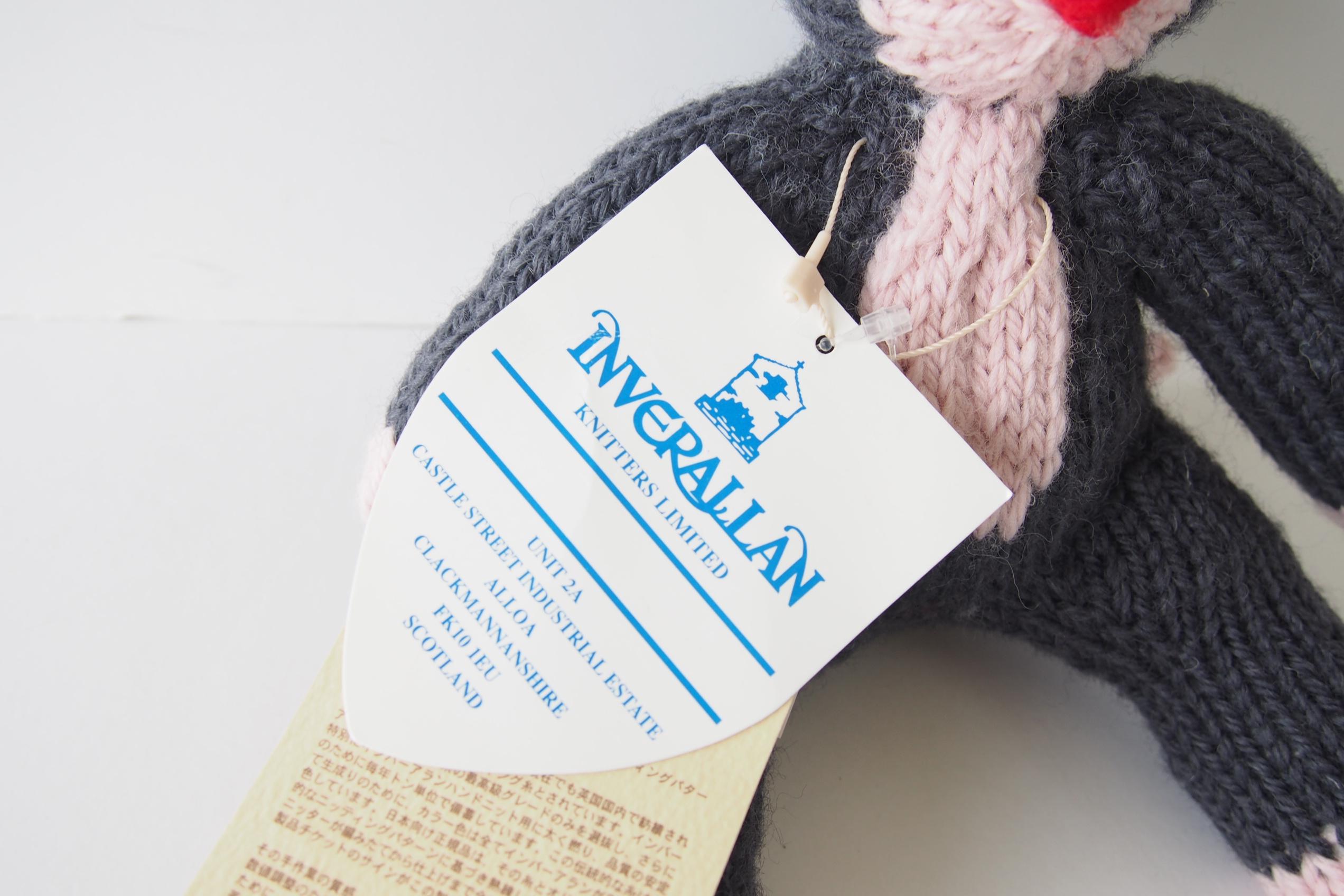 インバーアラン|Inverallan|ウールキャット|ねこ|編みぐるみ|ぬいぐるみイメージ02