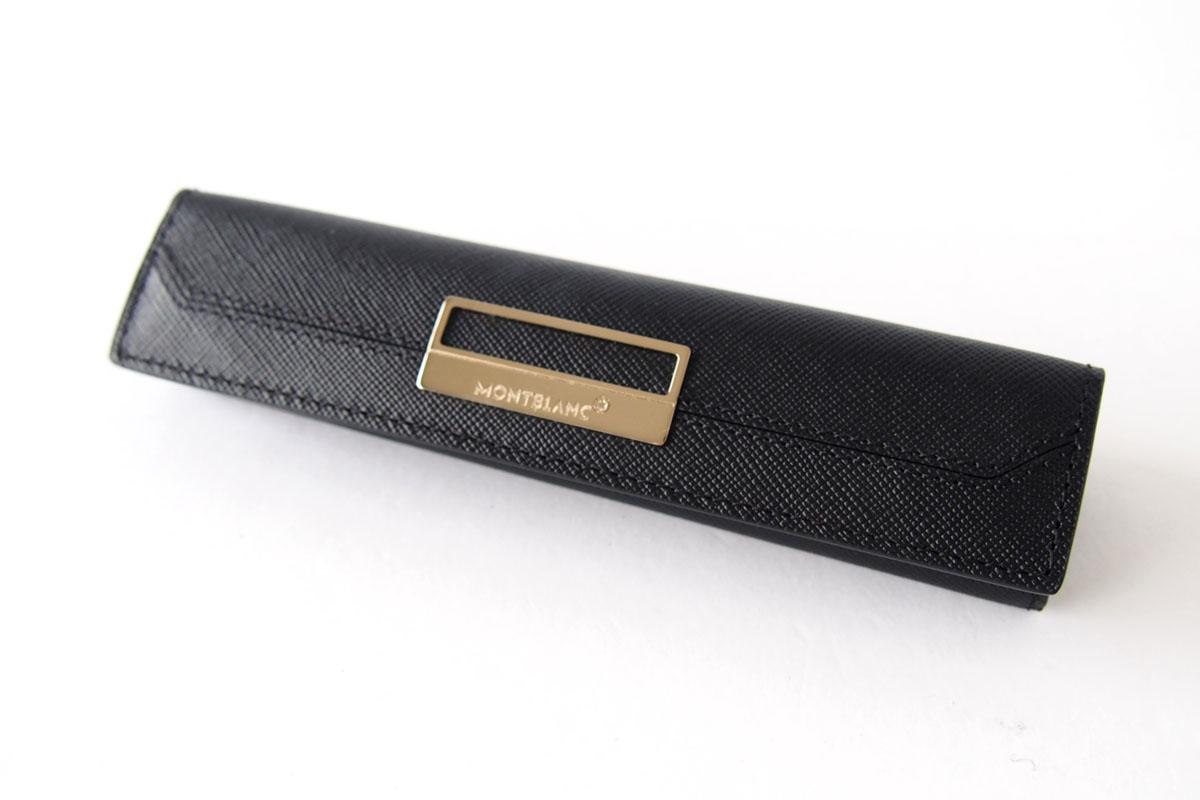 モンブラン|MONTBLANC|サルトリアル|1本差しペンケース|Sartorial Pen Pouch Lady|ブラック03