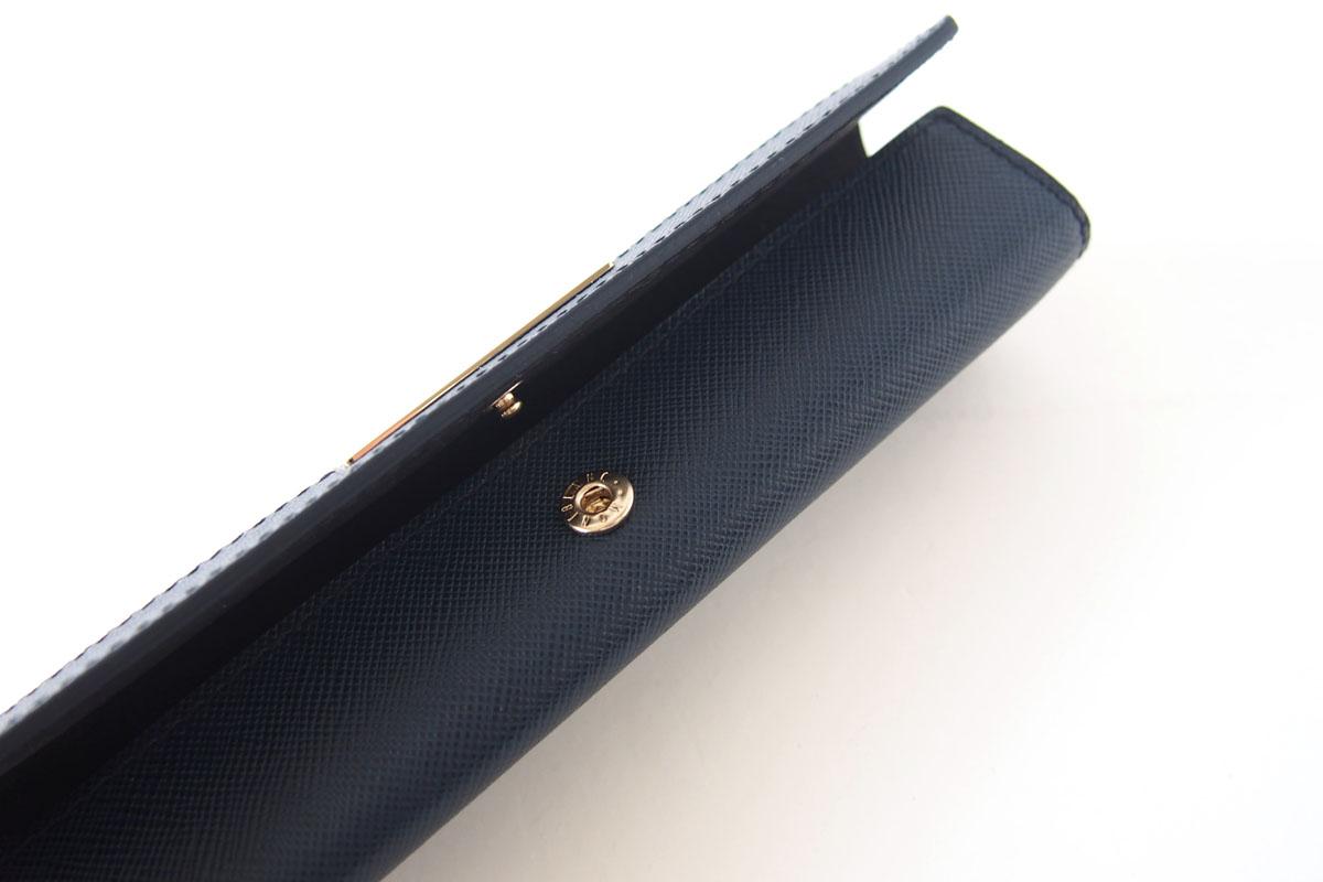 モンブラン MONTBLANC サルトリアル 1本差しペンケース Sartorial Pen Pouch Lady ネイビーイメージ08
