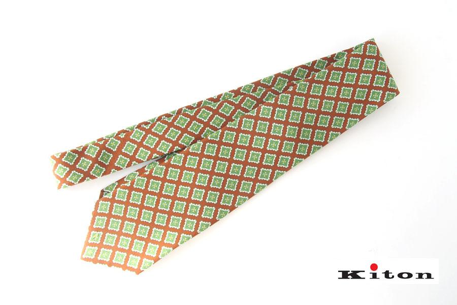 キートン|KITON|シルクプリント素材ネクタイイメージ01