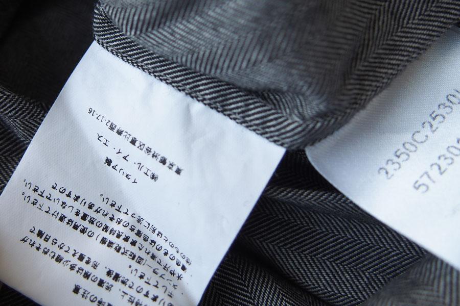 ギローバー|GUY ROVER|ワイドカラーコットンシャツ|S|グレイイメージ05