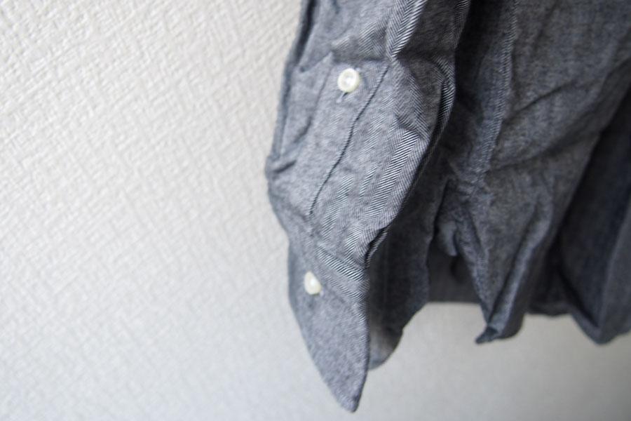 ギローバー|GUY ROVER|ワイドカラーコットンシャツ|S|グレイイメージ08