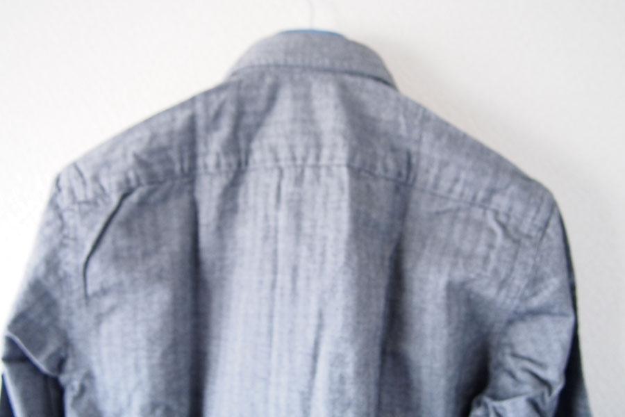 ギローバー|GUY ROVER|ワイドカラーコットンシャツ|S|グレイイメージ09