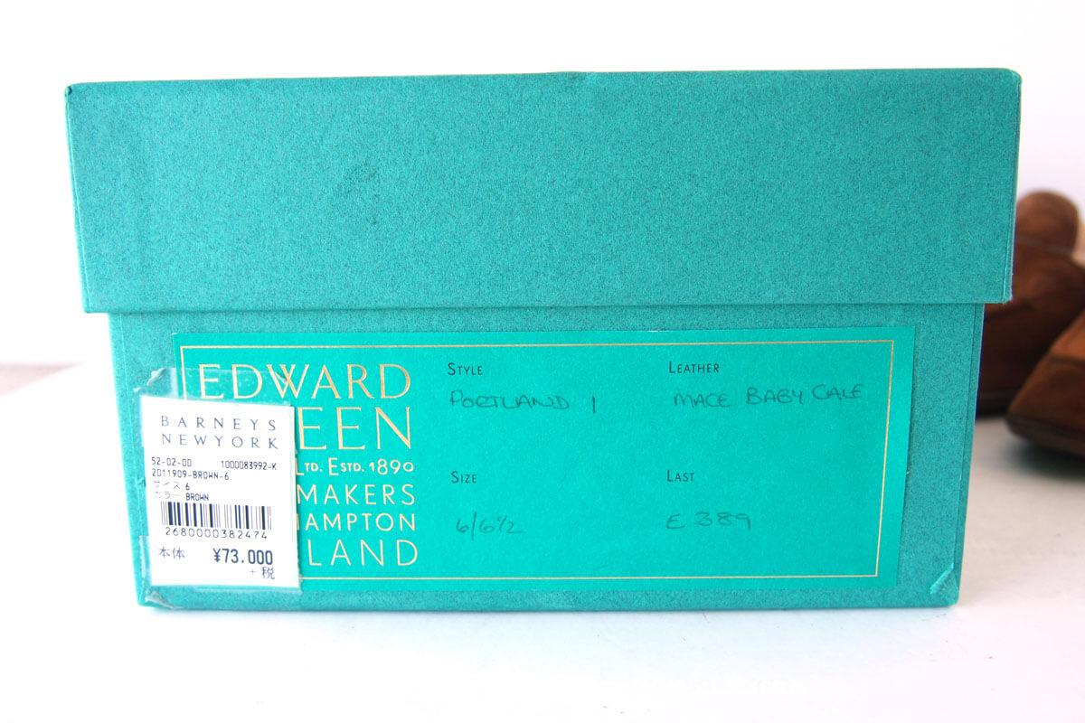 【中古】エドワードグリーン|EDWARD GREEN|PORTLAND|タッセルスリッポン|スエード|E389 イメージ010
