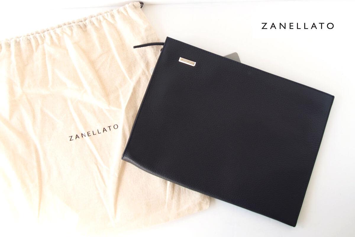 ザネラート|ZANELLATO|マルカプントレザー|クラッチバッグ NENO M+ 36152-25|ブラックイメージ01