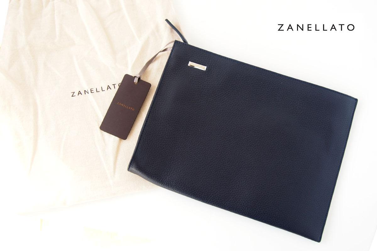 ザネラート|ZANELLATO|マルカプントレザー|クラッチバッグ NENO M+ 36152-25|ネイビー イメージ01