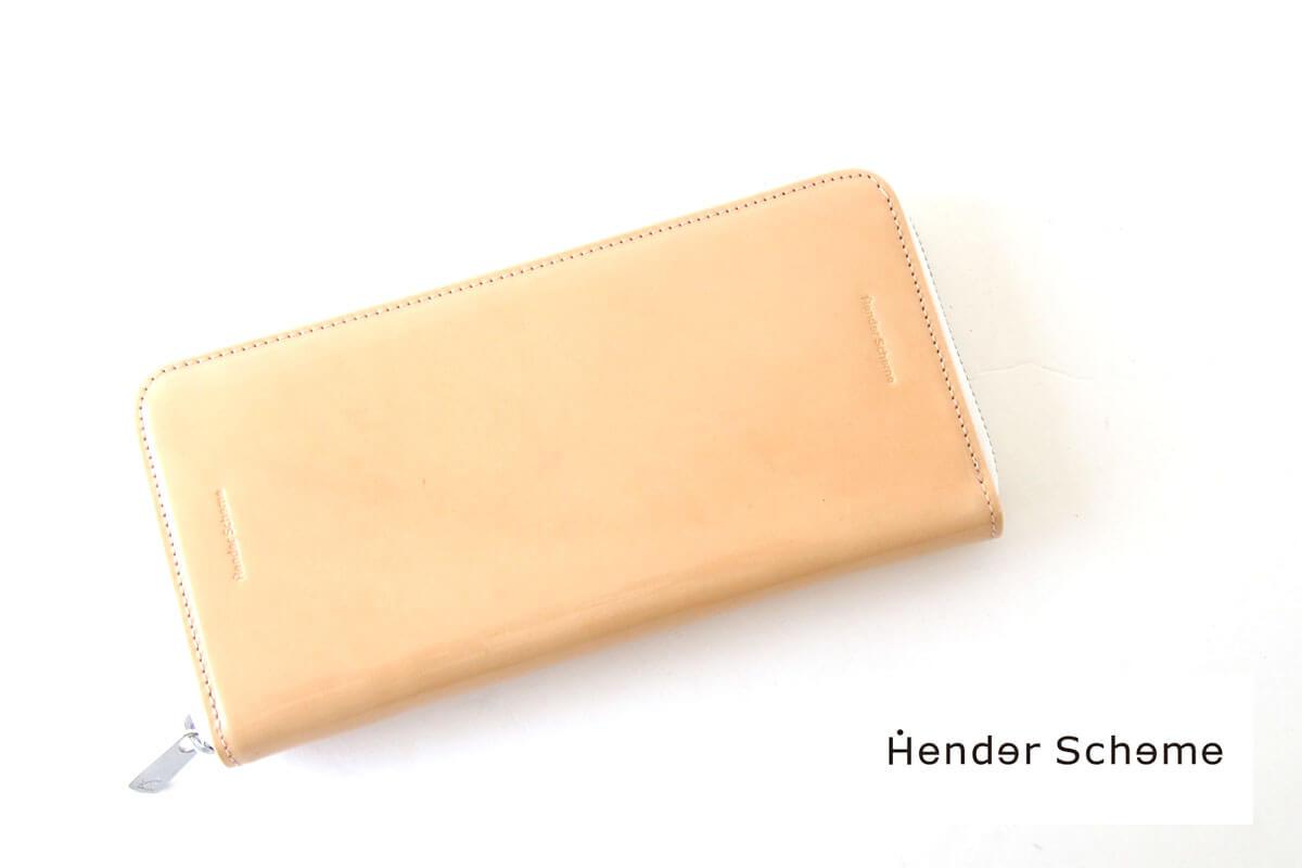 エンダースキーマ|Hender Scheme|ラウンドジップ長財布|fl-rc-lzp|パテントレザータイプ イメージ01