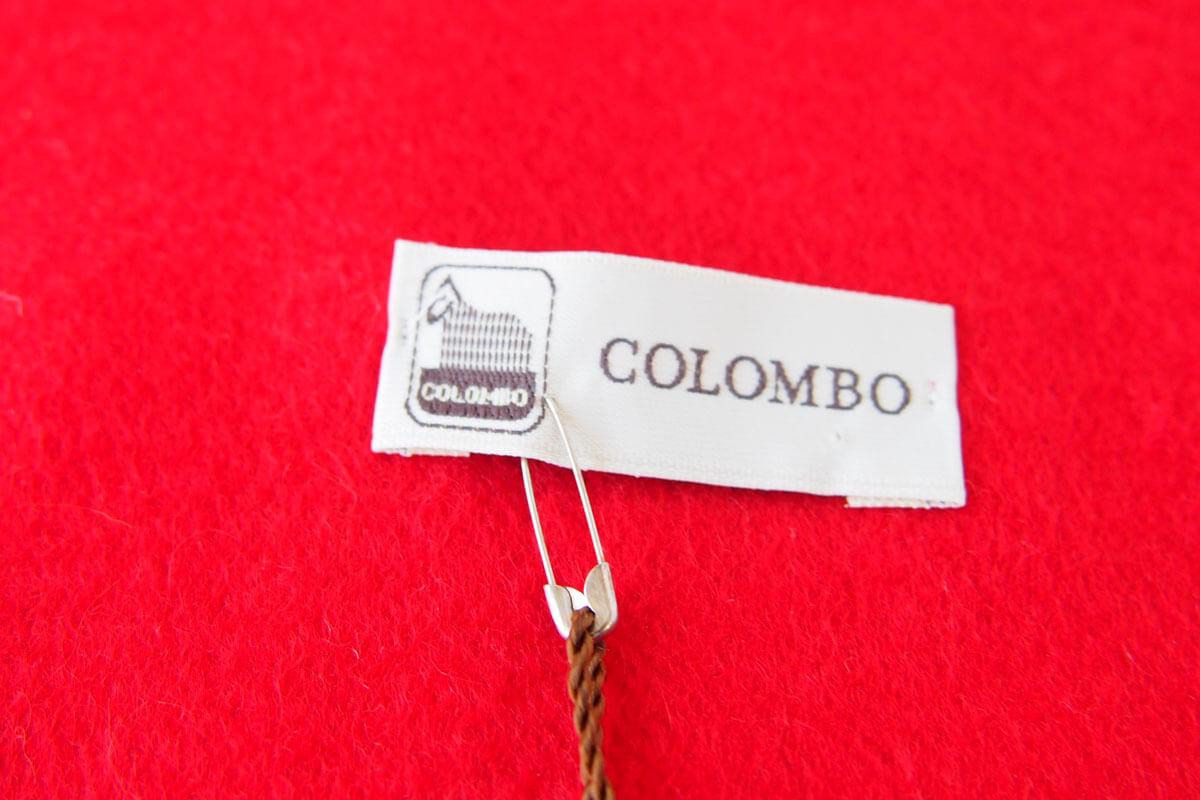 コロンボ|COLOMBO|カシミヤソリッドマフラー|ストール|レッドイメージ03