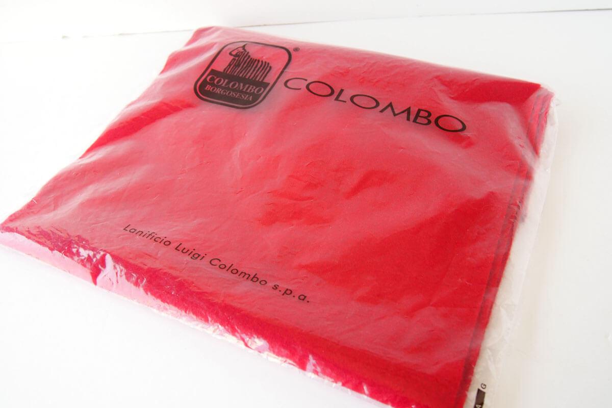 コロンボ|COLOMBO|カシミヤソリッドマフラー|ストール|レッドイメージ08