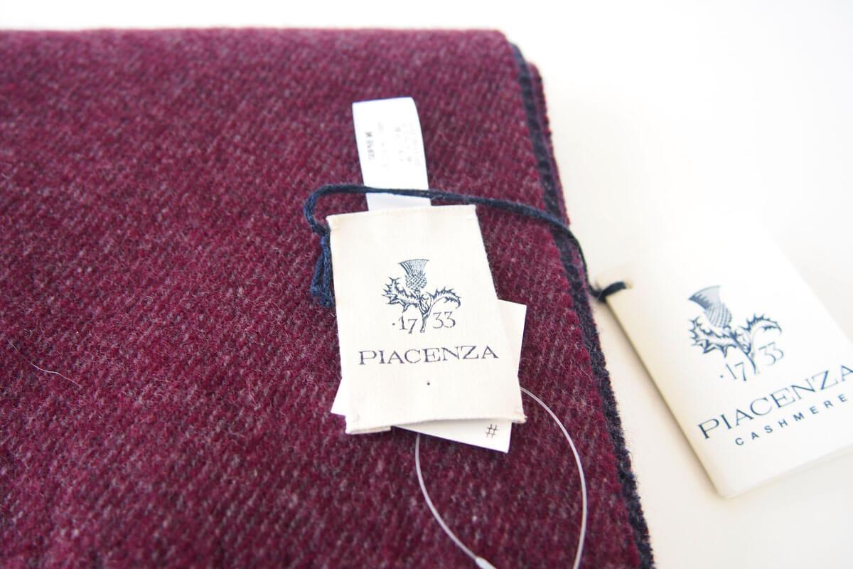 ピアチェンツァ|PIACENZA|カシミア100%リバーシブルストール イメージ02