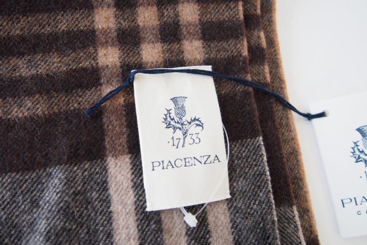 ピアチェンツァ|PIACENZA|カシミア100%チェック柄ストール|マフラー イメージ02