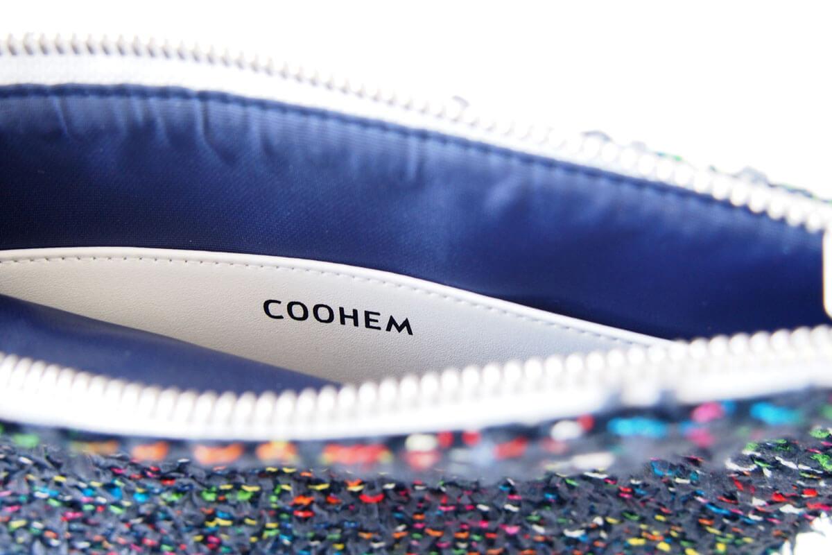 コーヘン|COOHEM|ツイードポーチ|ネイビー イメージ06