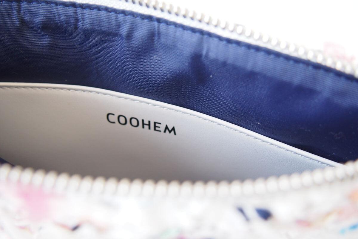 コーヘン|COOHEM|ツイードポーチ|ホワイト イメージ07