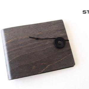 ストーリオ|STORIO|名刺入れ|木製|ブラック イメージ01