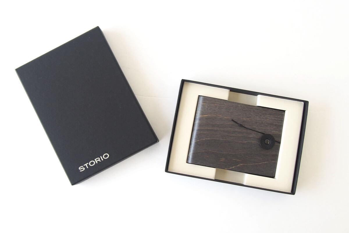 ストーリオ|STORIO|名刺入れ|木製|ブラック イメージ06